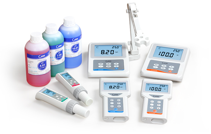 pH / ORP, Conductivity / Resistivity / TDS, Dissolved Oxygen, Free Chlorine in Lab& Field